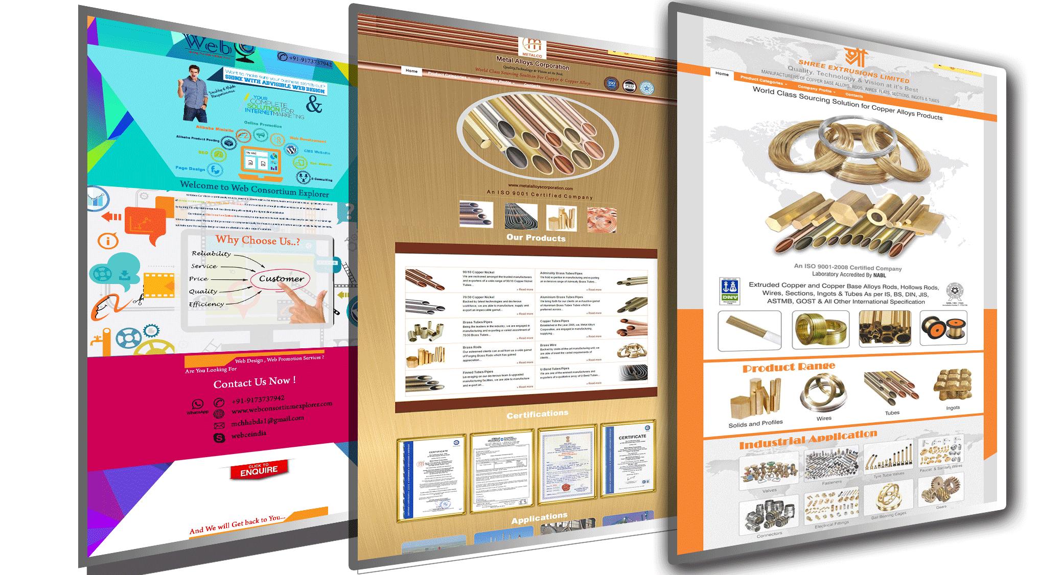 alibaba minisite design